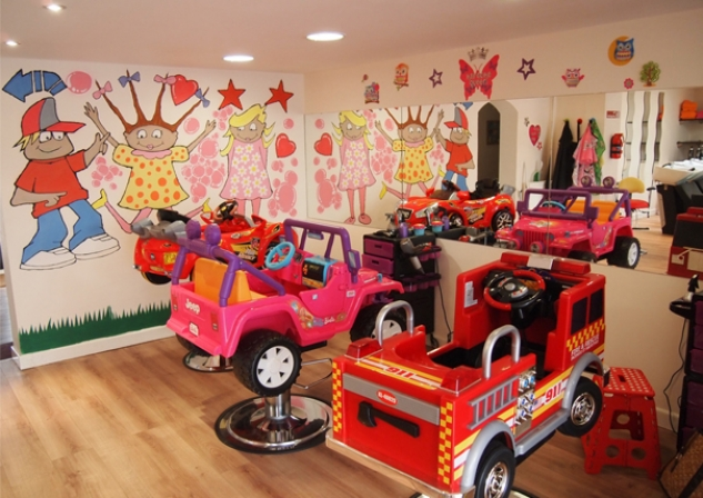 Kids Haircut Cars
